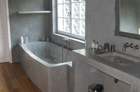 Pavimentos design pavimentos continuos tecnicos - Cemento decorativo para paredes ...