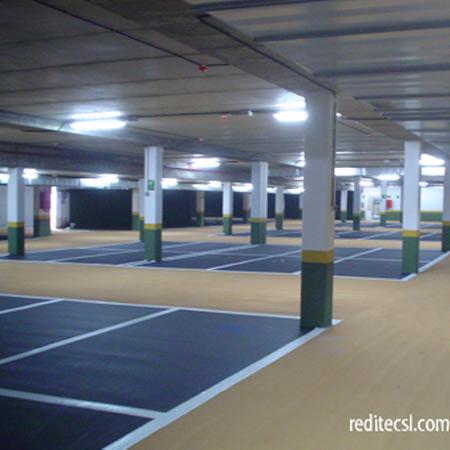Pavimentos garajes pavimentos continuos tecnicos - Suelo para garaje ...