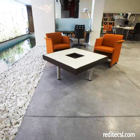 Pavimentos impresos pavimentos continuos tecnicos for Cemento pulido exterior